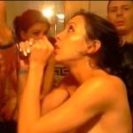 2 jeunes couples échangistes s'amusent en webcam